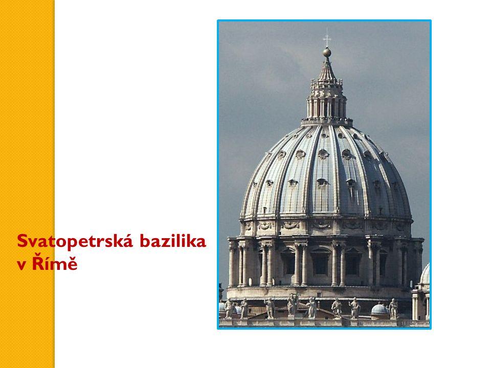 Svatopetrská bazilika v Římě