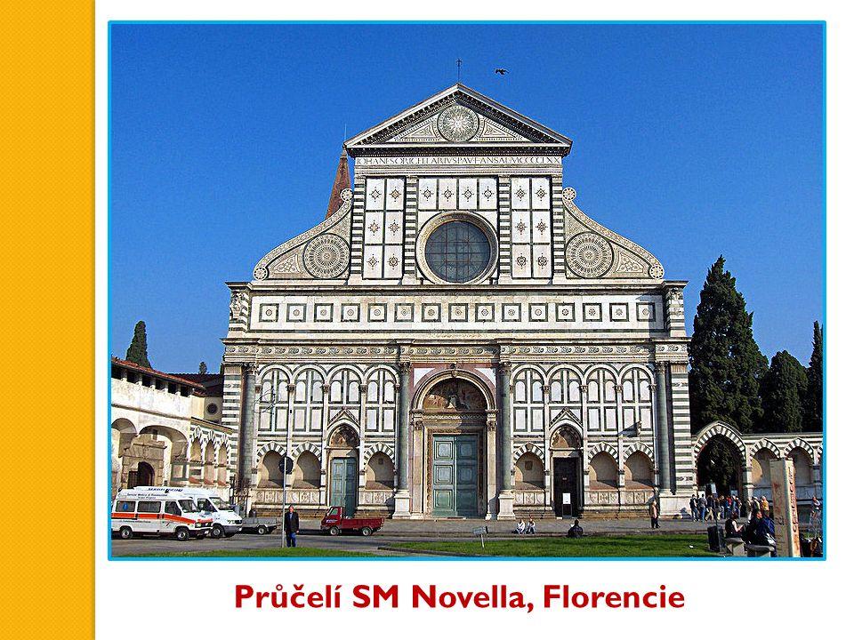 Průčelí SM Novella, Florencie