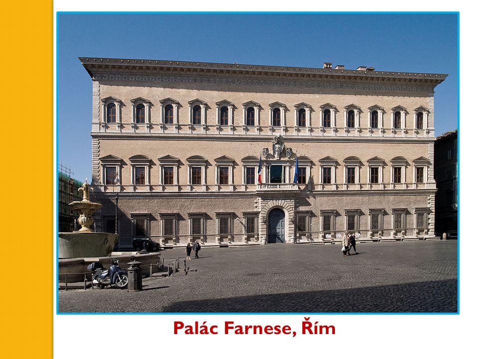 Palác Farnese, Řím