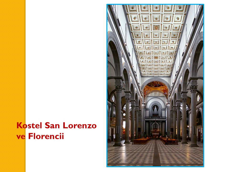 Kostel San Lorenzo ve Florencii