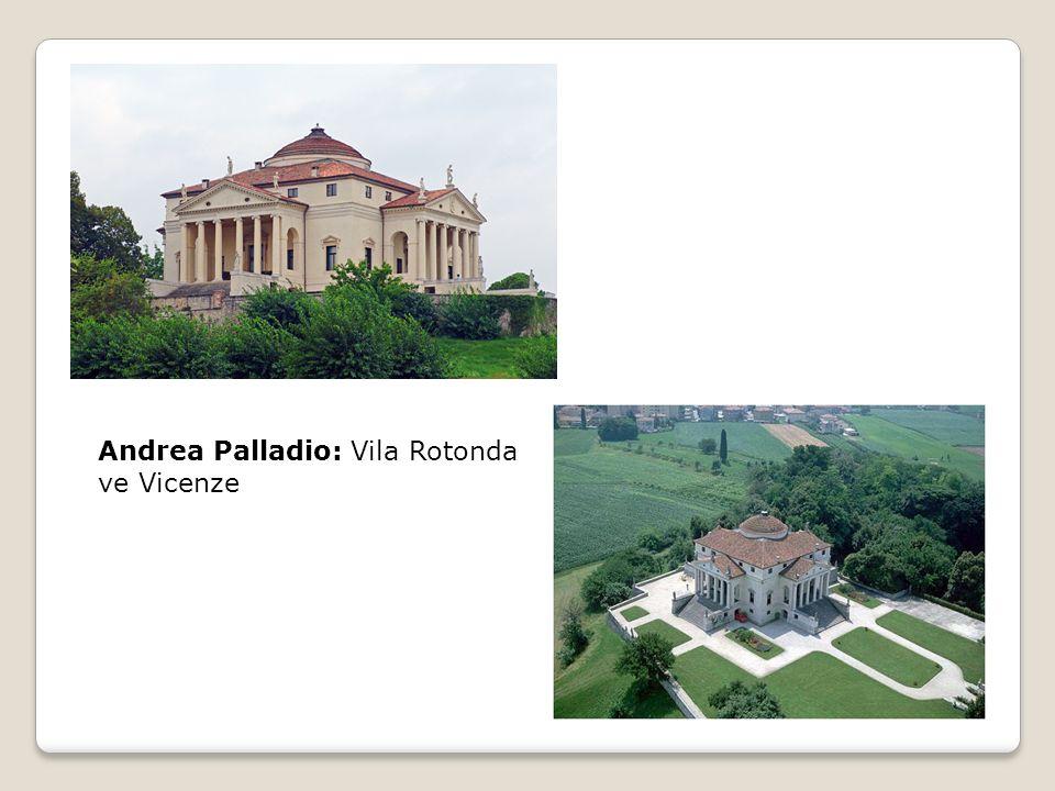 Andrea Palladio: Vila Rotonda ve Vicenze