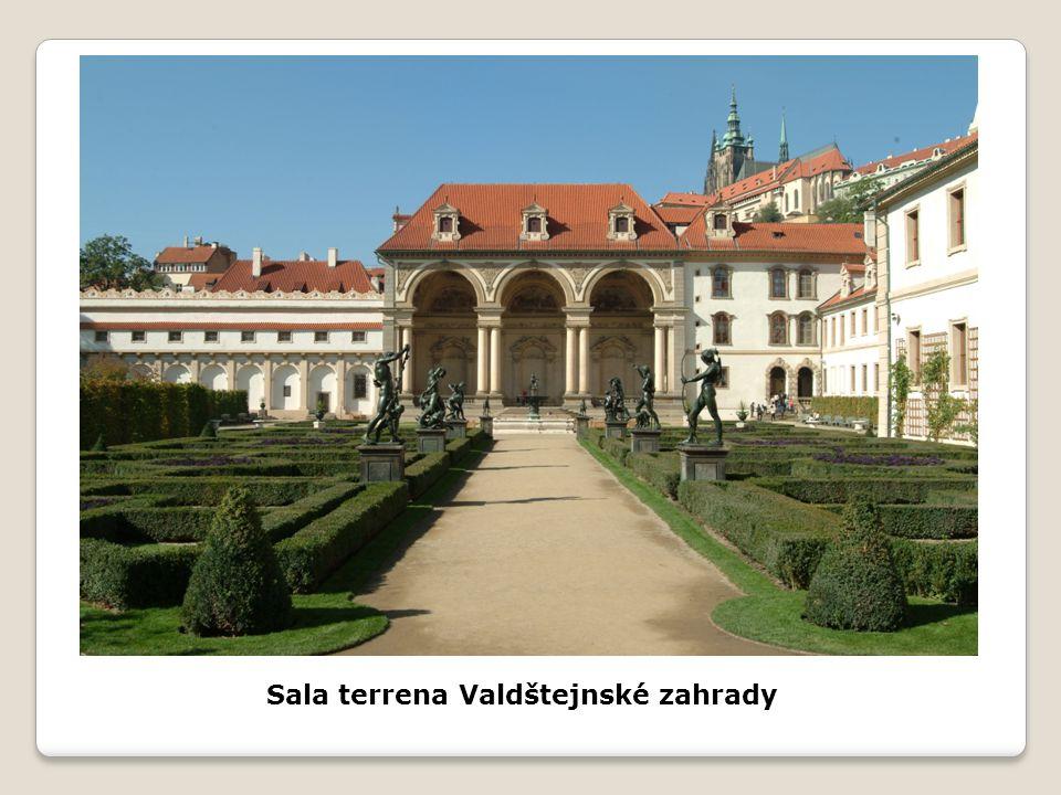 Sala terrena Valdštejnské zahrady