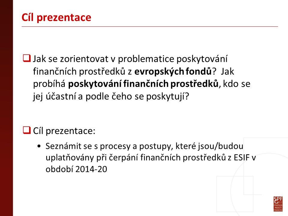 Program 1.Architektura regionální politiky EU v ČR v období 2014-20 2.Implementační struktura v období 2014-20 3.Způsoby implementace a příklady jejich využití