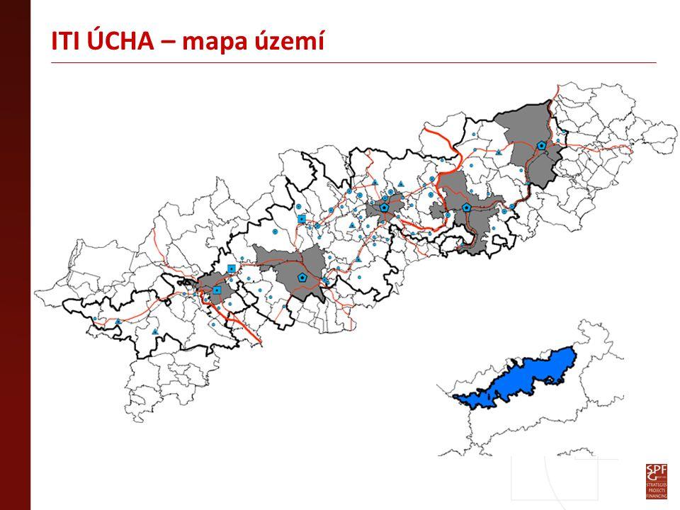 ITI ÚCHA – mapa území