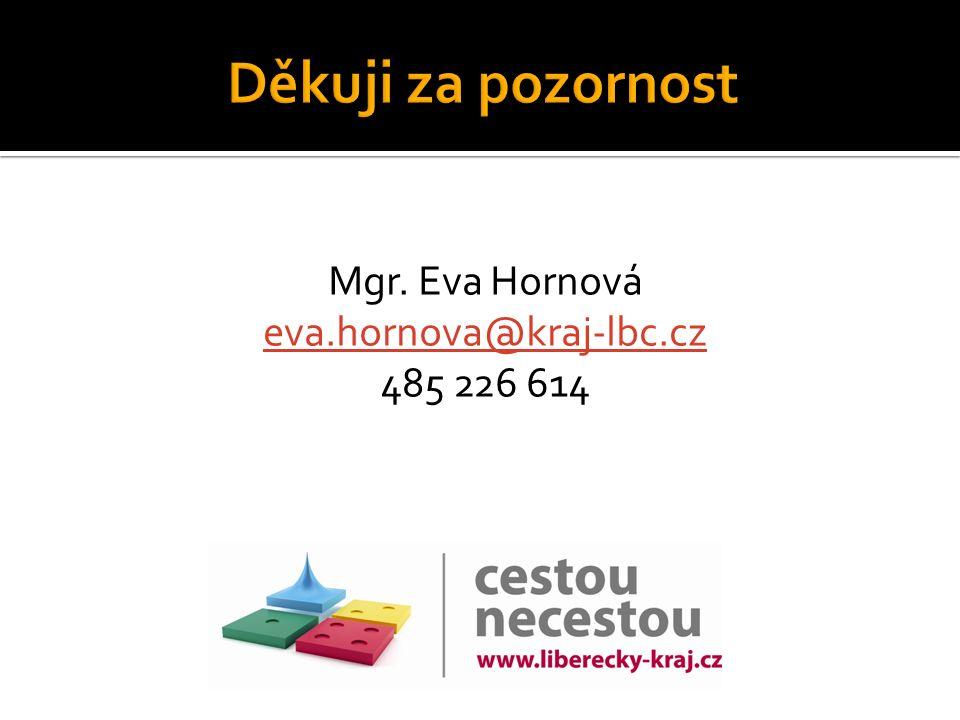 Mgr. Eva Hornová eva.hornova@kraj-lbc.cz 485 226 614