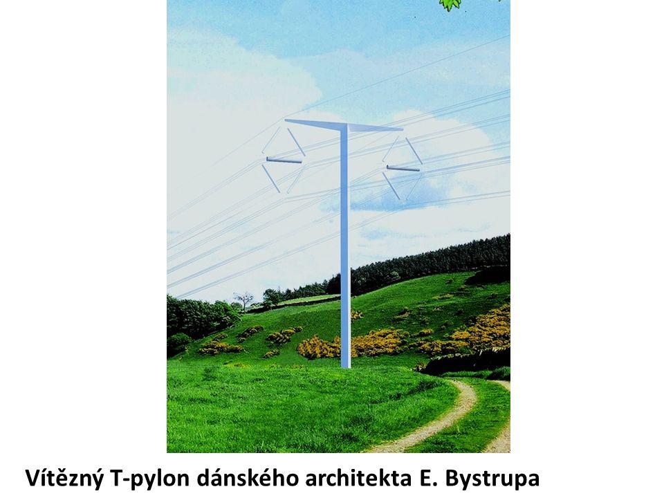 Vítězný T-pylon dánského architekta E. Bystrupa