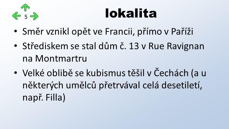 lokalita Směr vznikl opět ve Francii, přímo v Paříži Střediskem se stal dům č.