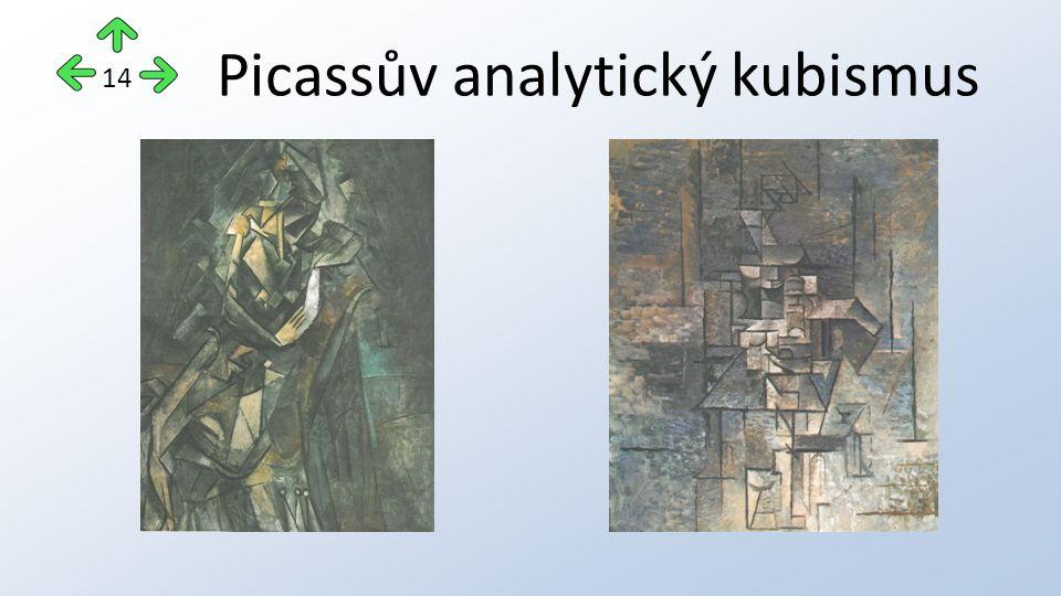 Picassův analytický kubismus 14