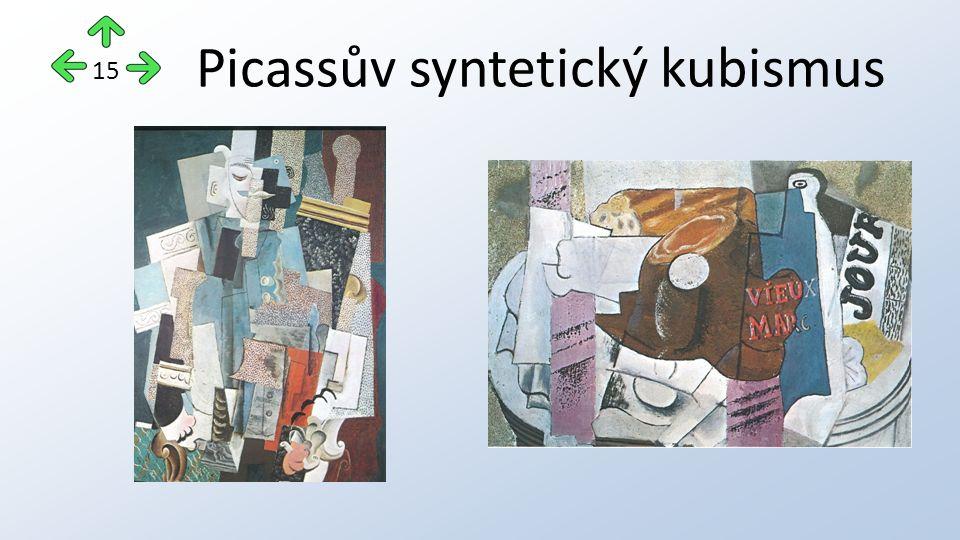 Picassův syntetický kubismus 15