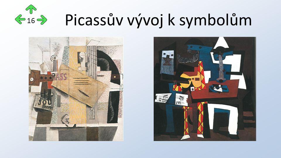 Picassův vývoj k symbolům 16