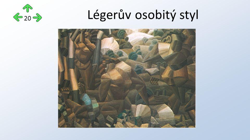 Légerův osobitý styl 20