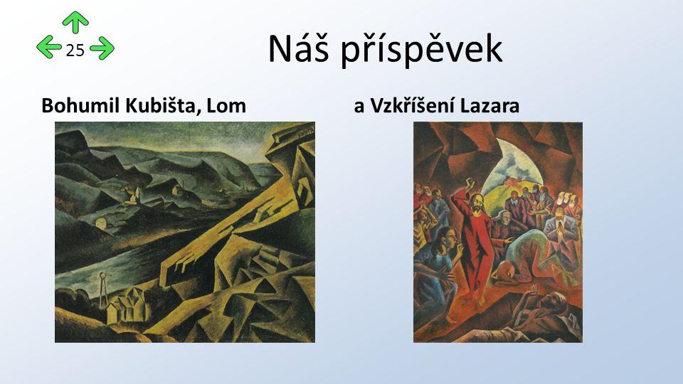 Náš příspěvek Bohumil Kubišta, Loma Vzkříšení Lazara 25