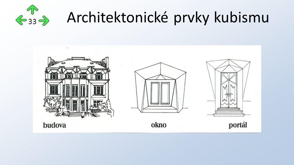Architektonické prvky kubismu 33