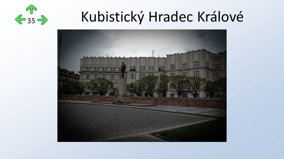 Kubistický Hradec Králové 35