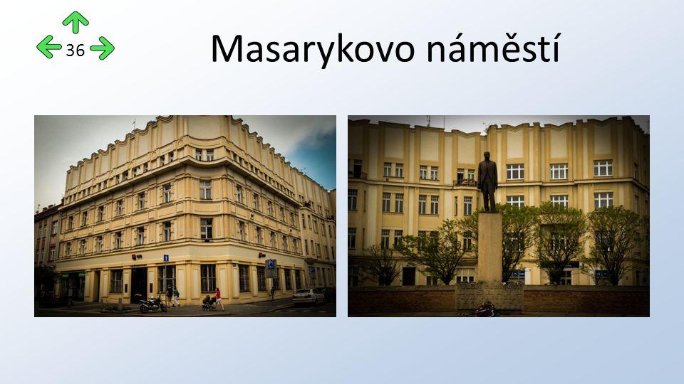 Masarykovo náměstí 36