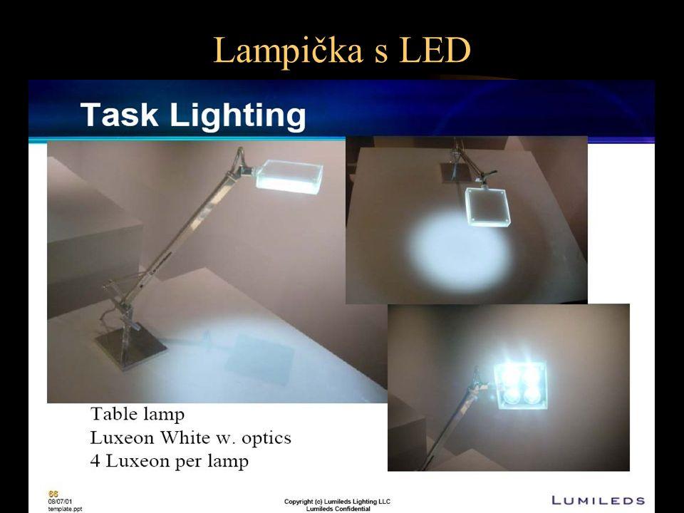 Lampička s LED