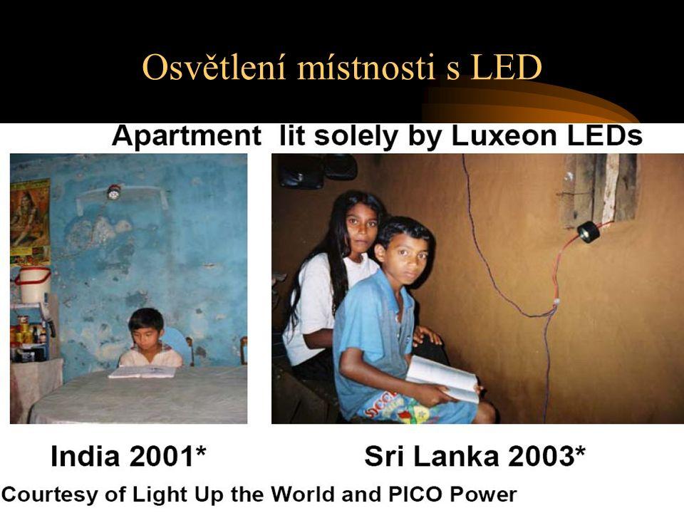 Osvětlení místnosti s LED