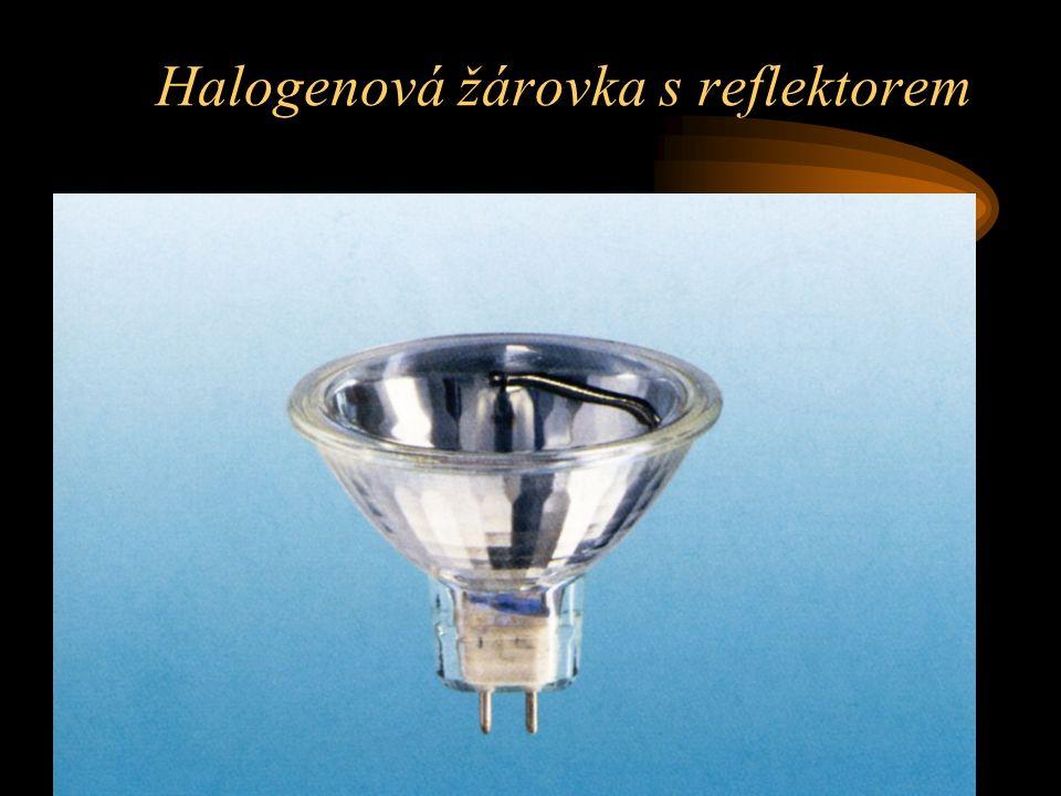Halogenová žárovka s reflektorem