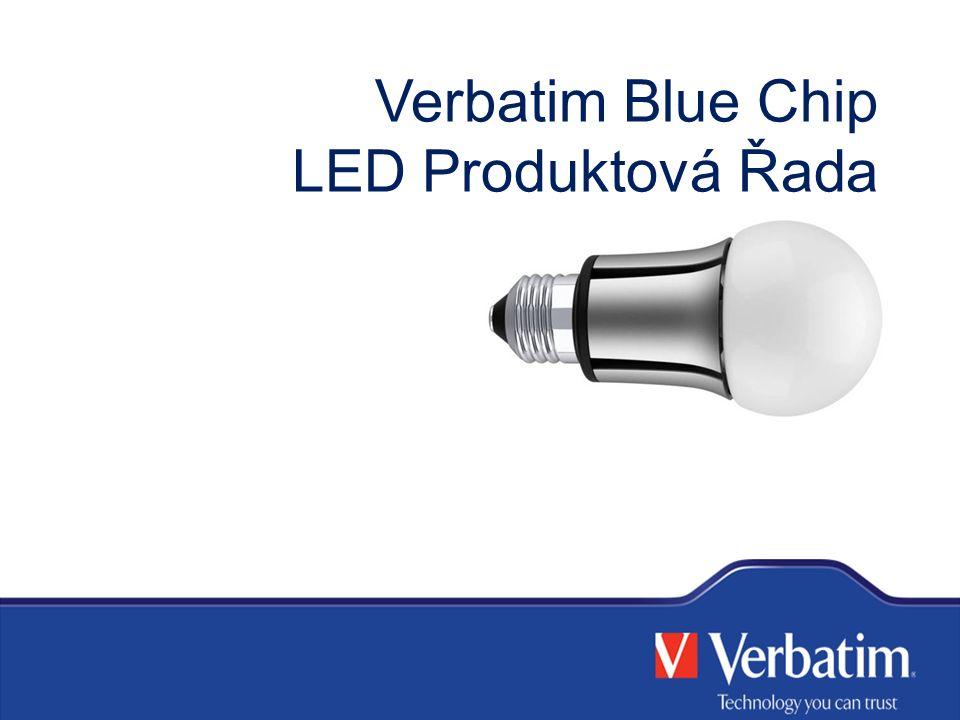 Verbatim Blue Chip LED Produktová Řada