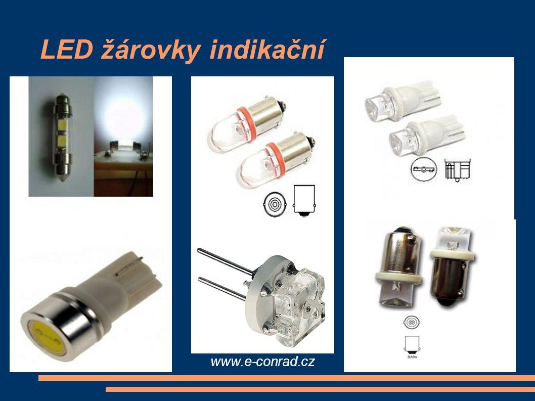 LED žárovky indikační alarmtuning.cz www.v3tuning.cz led-zarovky.alarm-anno.cz www.e-conrad.cz