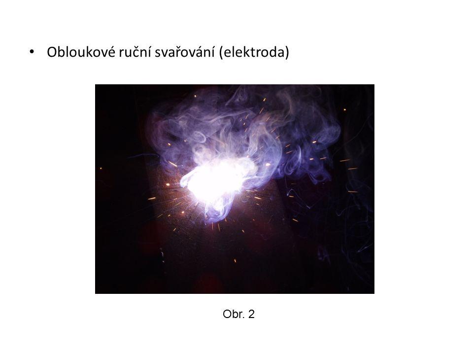 Sváření v ochranné atmosféře (drát + CO 2 ) Obr. 3
