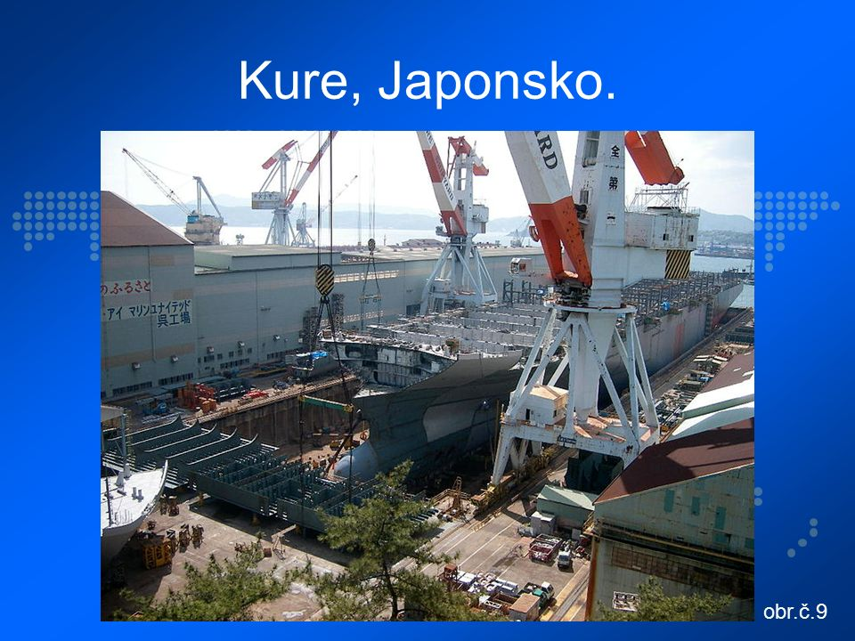 Kure, Japonsko. obr.č.9