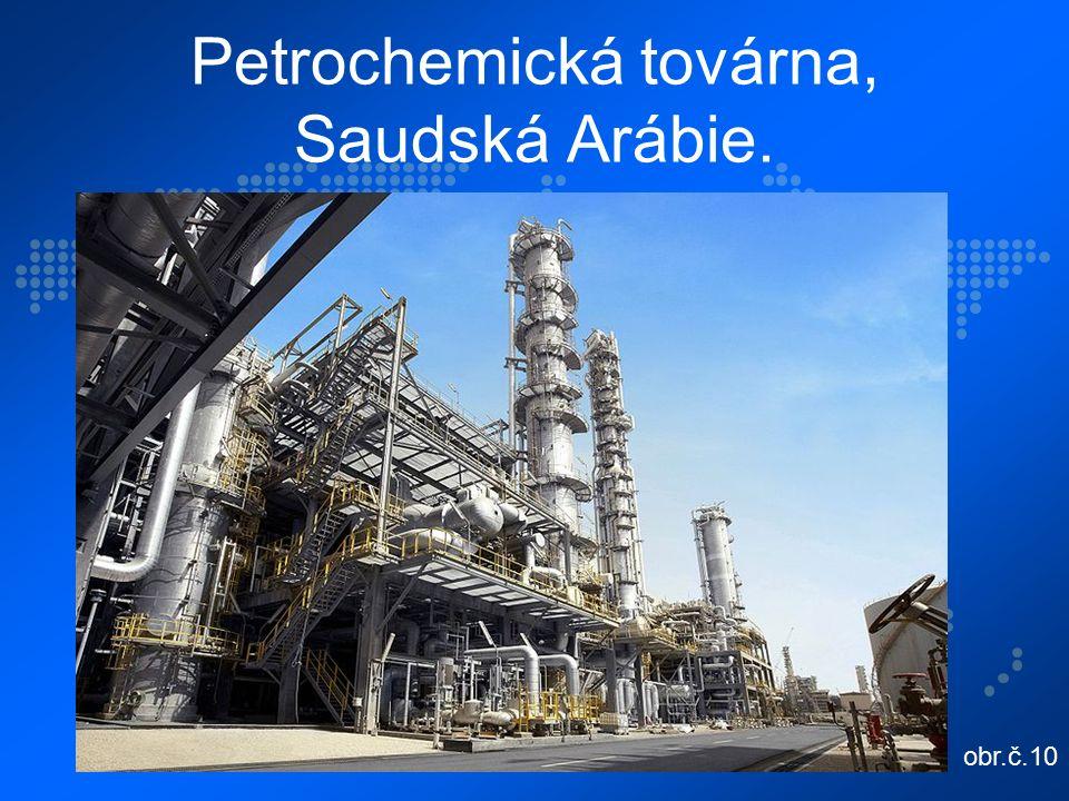 Petrochemická továrna, Saudská Arábie. obr.č.10