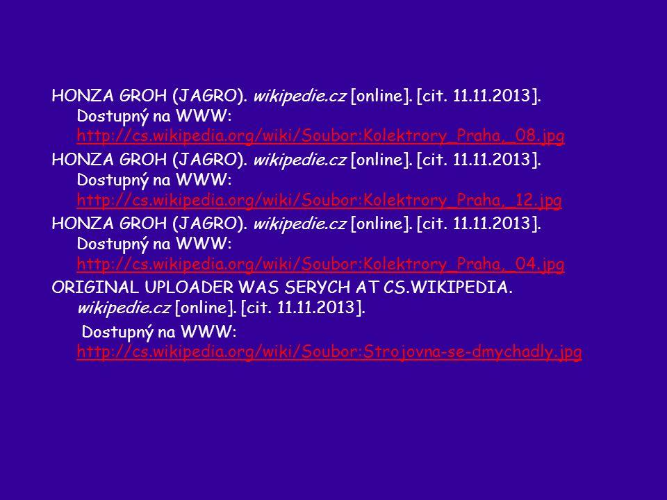 HONZA GROH (JAGRO). wikipedie.cz [online]. [cit.