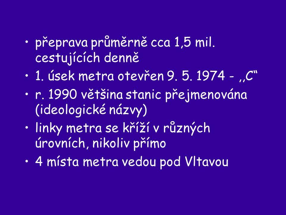 tzv.metro,,těžké sovětského typu – s max.