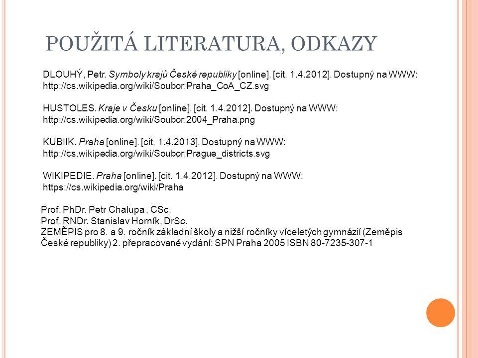 DLOUHÝ, Petr.Symboly krajů České republiky [online].