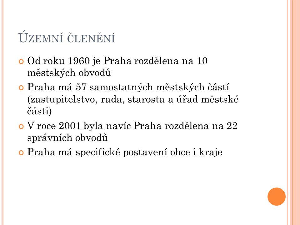 P OLOHA P RAHY V Č ESKÉ REPUBLICE