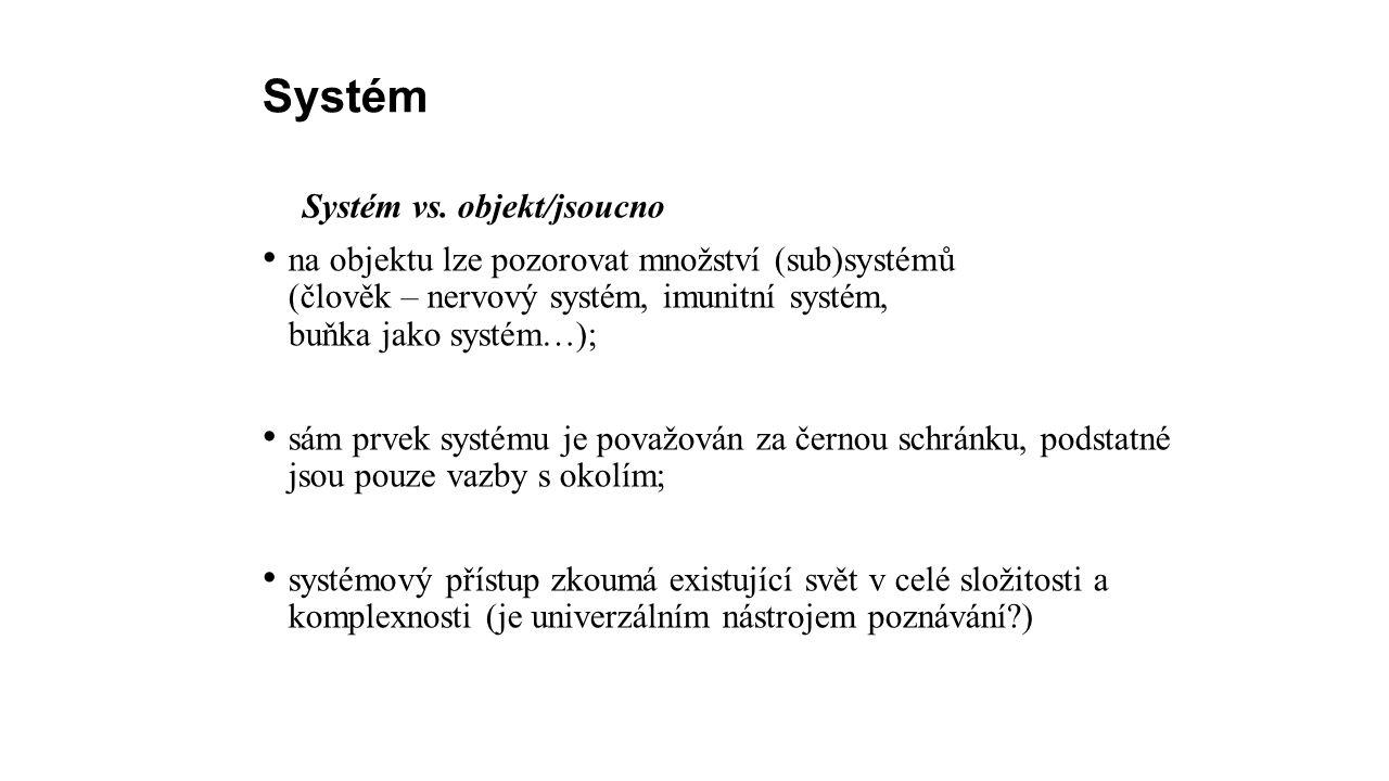 Systém Systém vs.