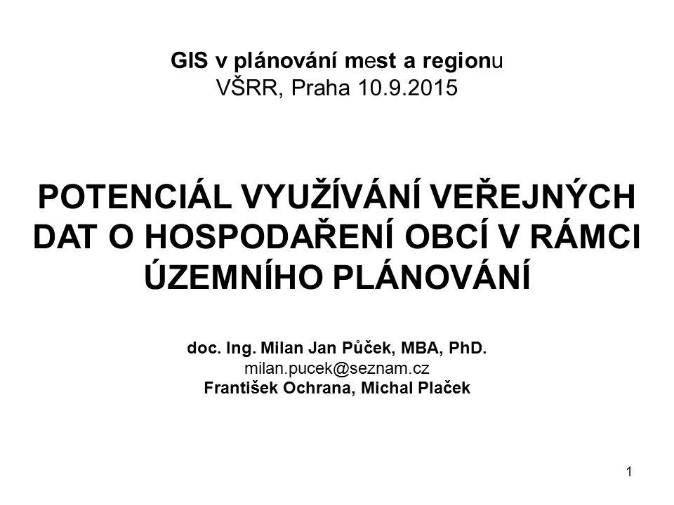 12 Výsledky – příčiny stavu v ČR V rámci ČR byly identifikovány příčiny: Územní plány zpracovávají urbanisté, architekti atd.