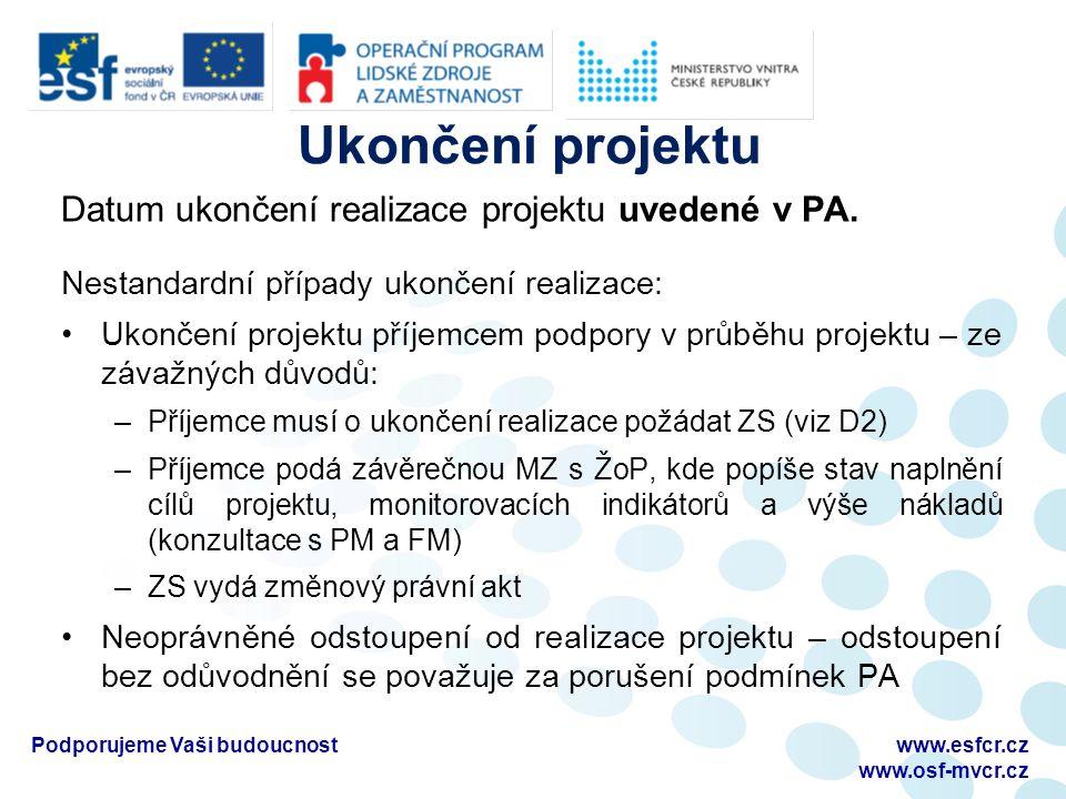 Změny v OM Upravena povinnost auditu (D2, str.
