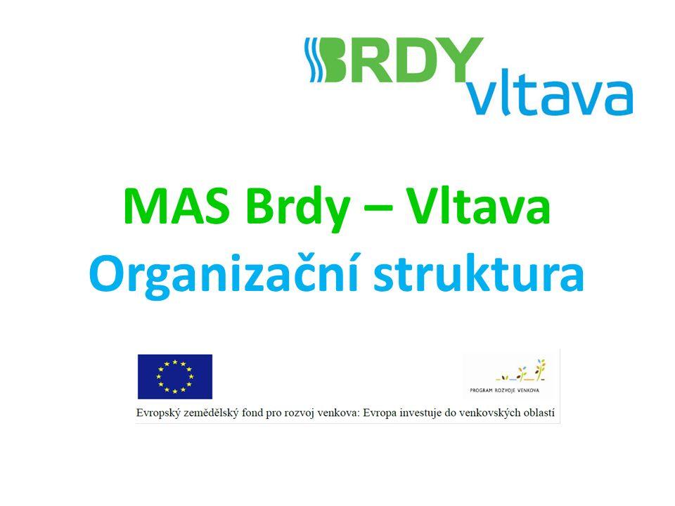 MAS Brdy – Vltava Organizační struktura