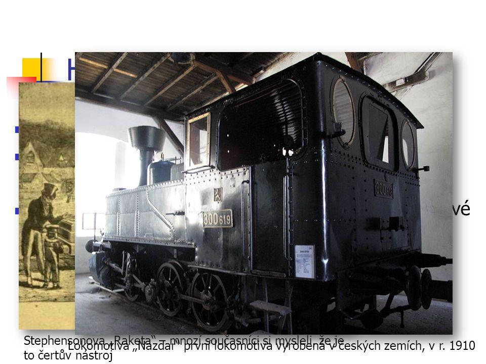 Historie železniční dopravy pokusy již na konci 18.