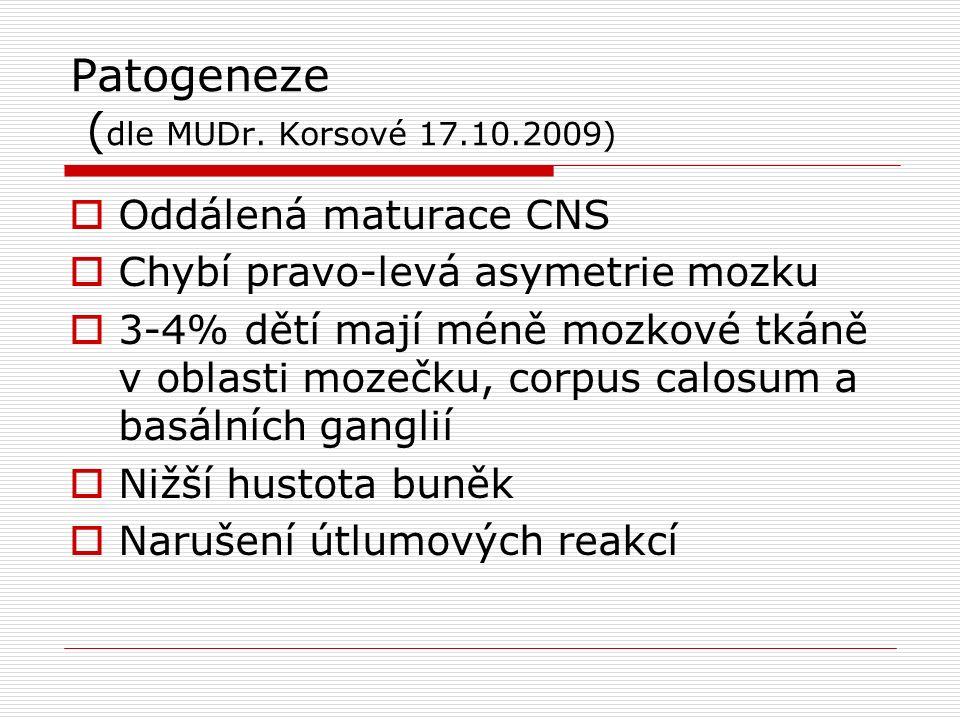Patogeneze ( dle MUDr.
