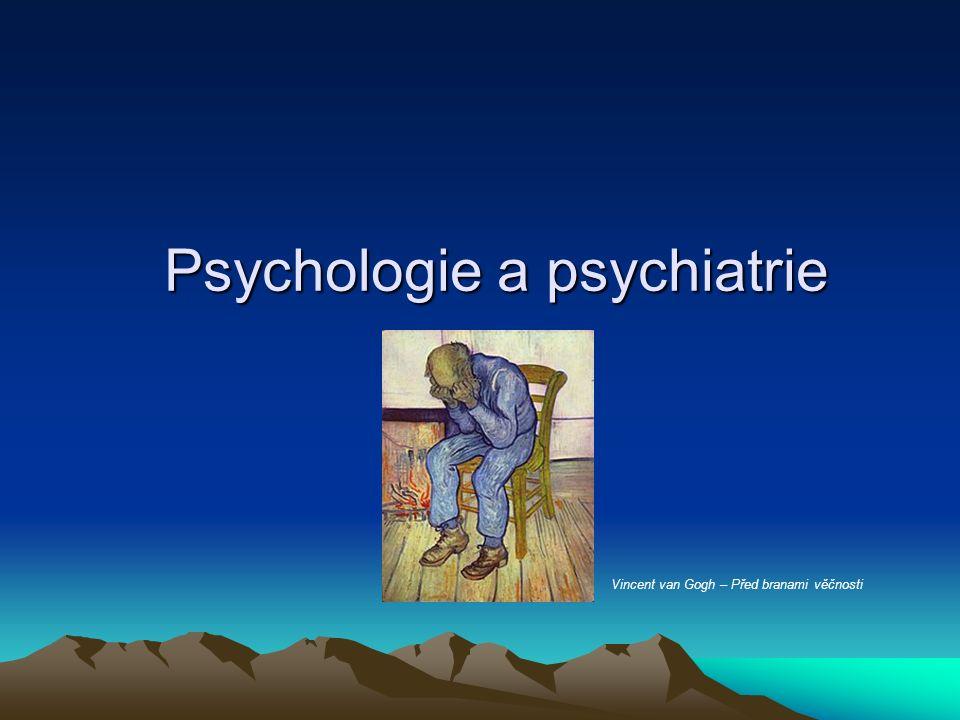 Psychologie a psychiatrie Vincent van Gogh – Před branami věčnosti