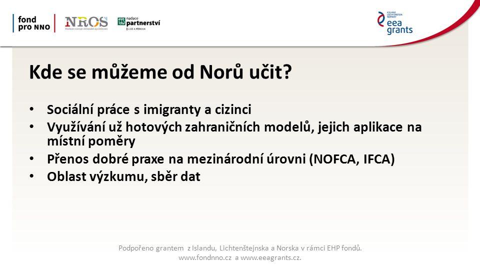 Kde se můžeme od Norů učit.