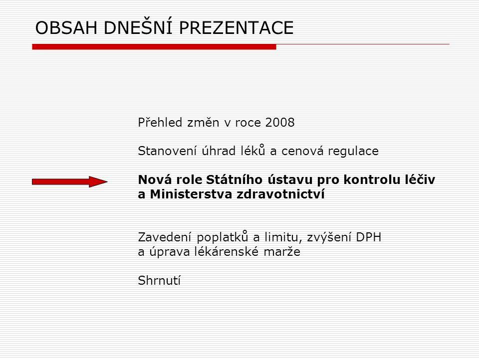 [ 9 ] PharmDr.Martin Beneš © 2007 Státní ústav pro kontrolu léčiv Praha 2007.