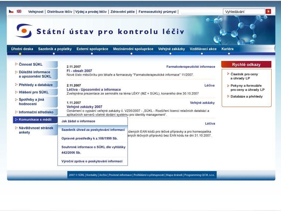 [ 28 ] PharmDr. Martin Beneš © 2007 Státní ústav kontrolu léčiv Stanovení maximálních cen a stanovení výše a podmínek úhrad léčivých přípravků - změny