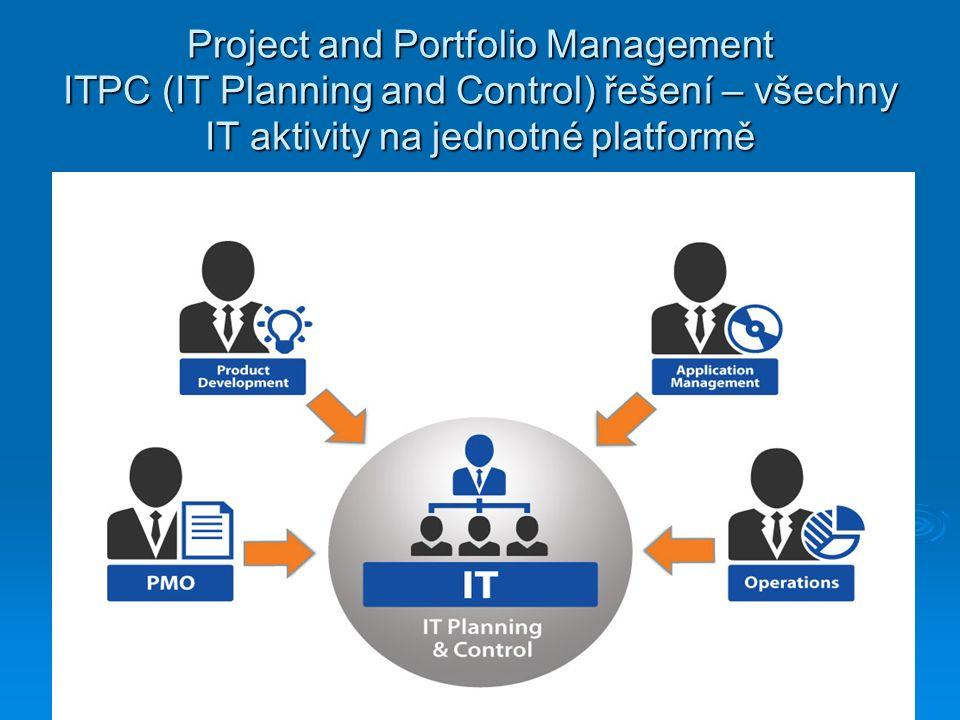 Project and Portfolio Management ITPC (IT Planning and Control) řešení – všechny IT aktivity na jednotné platformě