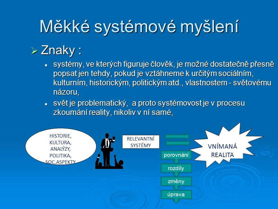 Klasický PMSw  Project Management Software Představiteli tohoto softwaru jsou například Microsoft Project, Time Line, Harvard Project Manager, Instaplan, Project Scheduler nebo Superproject Expert.