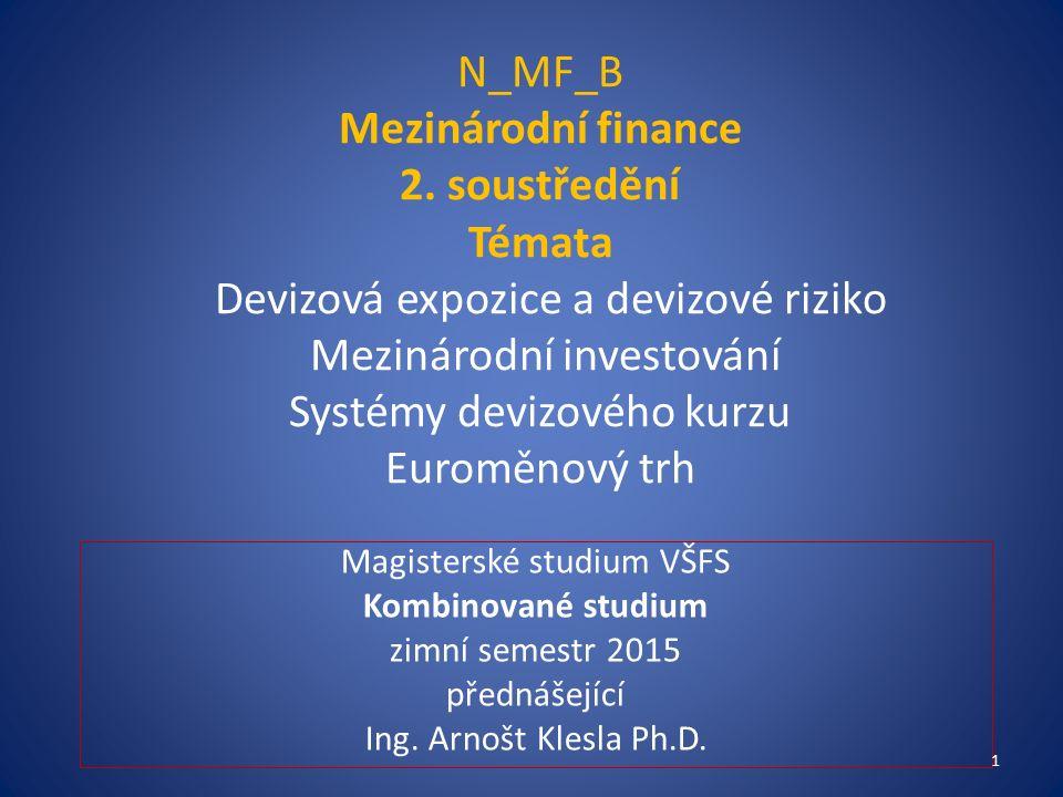 N_MF_B Mezinárodní finance 2.