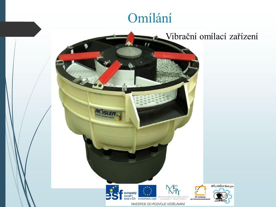 Vibrační omílací zařízení