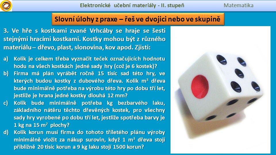 cubic capacity Elektronické učební materiály - II.