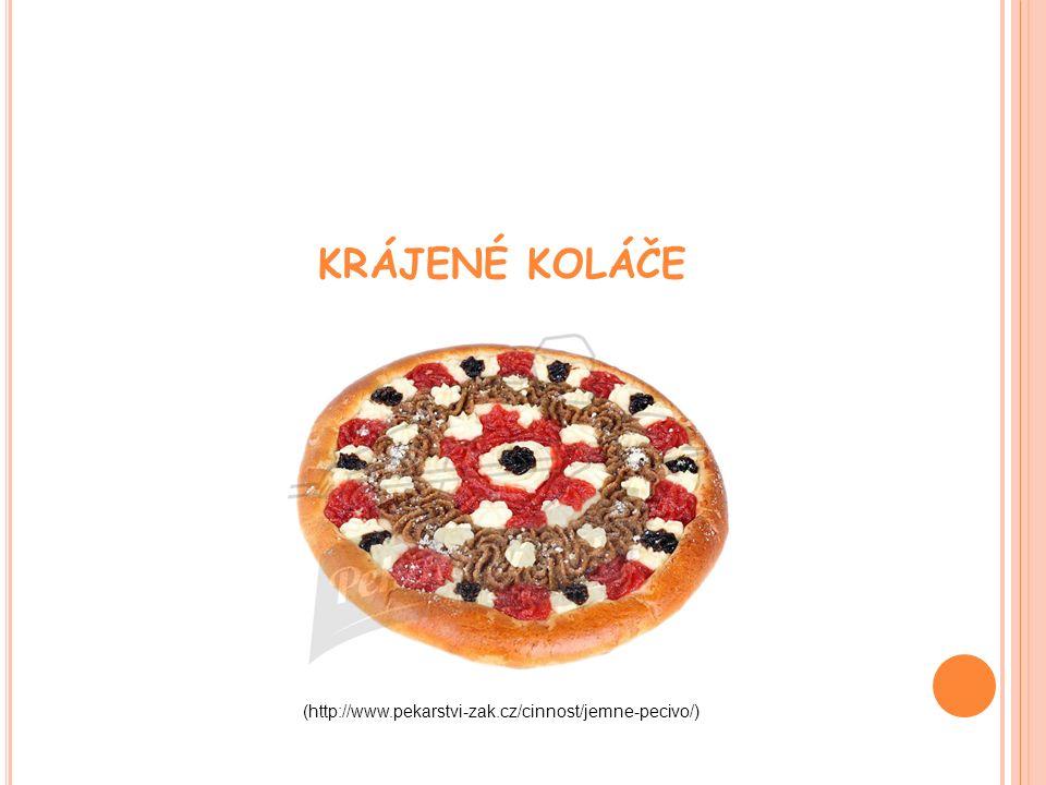 KRÁJENÉ KOLÁČE (http://www.pekarstvi-zak.cz/cinnost/jemne-pecivo/)