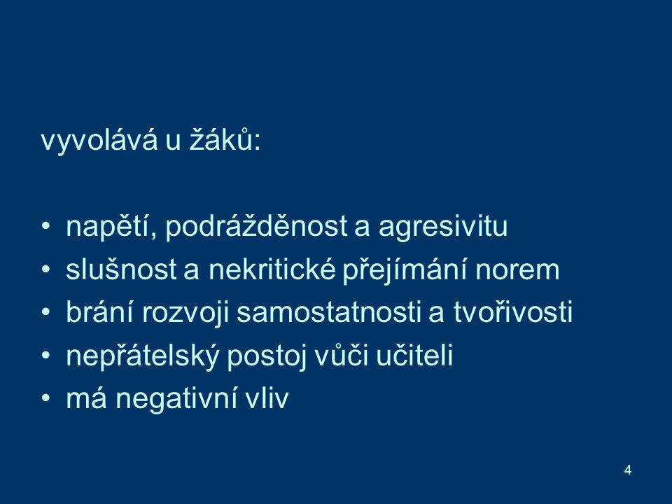 15 Zdroje: HOLEČEK, Václav.Aplikovaná psychologie pro učitele 1.