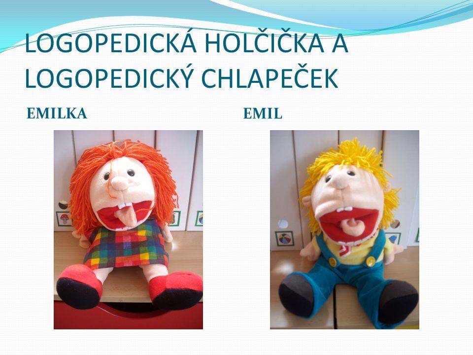 LOGOPEDICKÁ HOLČIČKA A LOGOPEDICKÝ CHLAPEČEK EMILKA EMIL