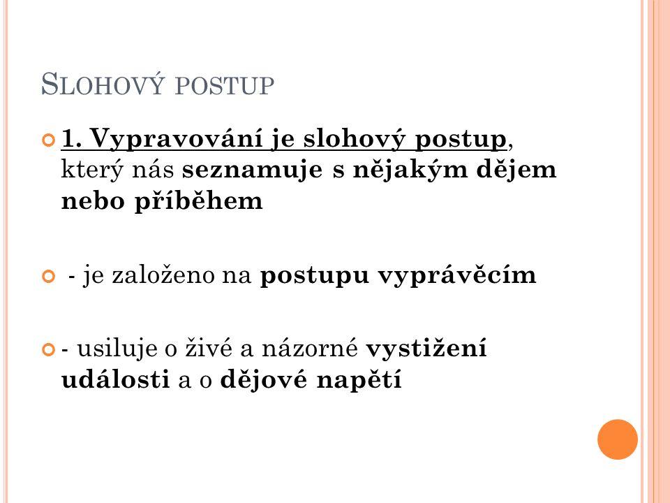 S LOHOVÝ POSTUP 1.